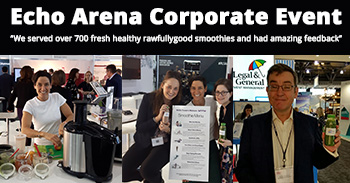 Echo Arena Corporate Event